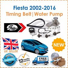 For Ford Fiesta 1.25 1.4 1.6 Ti 2002-2016 GATES Timing Cam Belt Kit & Water Pump