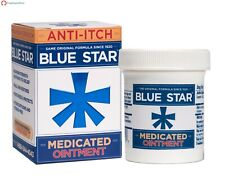 Blue Star Ointment For Ringworm Itching - 2 Oz