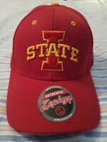 Zephyr Men's Iowa State Cyclones Competitor Zwool Adjustable Hat Size: Adj Red