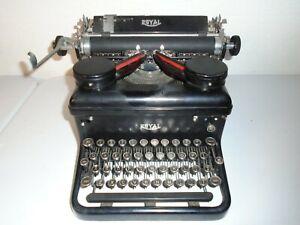 Vintage Royal Model 10 Typewriter Touch Control Read Description
