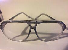 REVENGE OF THE NERDS WORMSER AVIATOR STYLE VINTAGE 80's GLASSES - GRAY