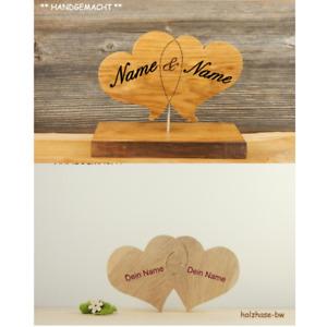 Herzen Geschenk Valentinstag Hochzeit Liebesbeweis Jahrestag individuell Herz