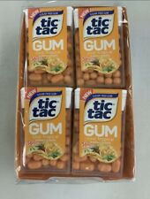Tic Tac Gum Cool Tropical Candy Sugar-Free Bulk Candies Tacs (Box of 12 Packs)