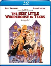 The BEST LITTLE WHOREHOUSE IN TEXAS (1982) BLU-RAY (2016) BURT REYNOLDS DOLLY