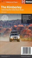 The Kimberley Map  -  Gibb river road (Hema   New. Latest edition Priority post