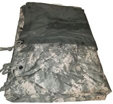 Military Issued ACU Field Tarp tarpaulin digital camo us army USGI 91x81 new bag