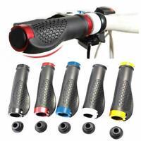 2Pcs Bike Handlebar Rubber Handle Grips Mountain Bicycle Rubber Anti-slip Device
