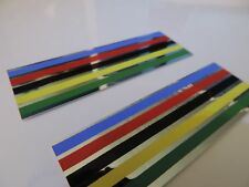 NOS VINTAGE BICYCLE FRAME / BARS FOIL STICKERS CAMPAGNOLO TYPE
