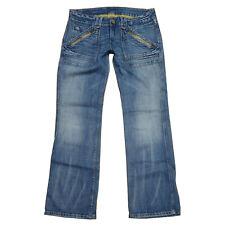 PEPE Jeans London - Modell ZONA - W31 L30 / ca. Gr 40 / 42 - Hüftjeans Used Look