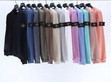 Men Women Stone Island Hoodies Unisex Adults Pullover Sweatshirt Hooded Tops
