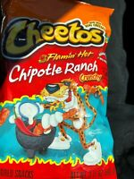 NEW FRITO LAY CHEETOS FLAMIN' HOT CHIPOTLE RANCH CRUNCHY CHIPS FREE SHIPPING