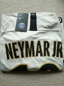 Paris Saint Germain PSG Neymar Jnr Football Shirt Short Sleeve Away Nike XL BNWT