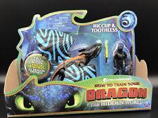 Train Your Dragon Drachen Hicks blau Streifen Ohnezahn Armored Wikinger Figur