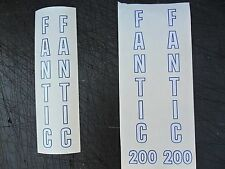 Fantic 200 or 240 trials fork decals