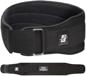 Cinturon Para Gym Gimnasio Levantamiento De Pesas Soporte Espalda Ajustable NEW