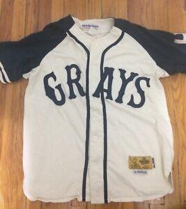 Homestead Grays Josh Gibson #20 Jersey XL Ebbets Field Flannels Negro Leagues