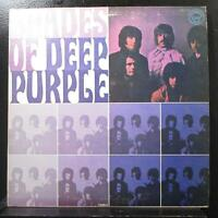 Deep Purple - Shades Of Deep Purple LP Mint- T-102 Silver Labels Vinyl Record