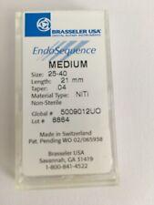 Brasseler Endosequence 5009012uo Rotary Files Medium Assortment Pack 40 25
