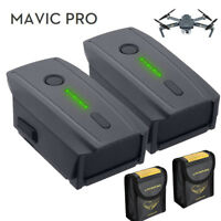2Pack 3830mAh Intelligent Flight LiPo Battery For DJI Mavic Pro Quadcopter Drone