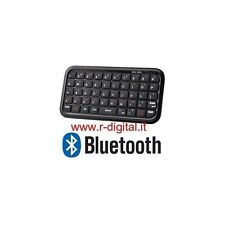 MINI TASTIERA BLUETOOTH CELLULARE IPHONE IPAD ANDROID NOKIA WIFI HTC SAMSUNG