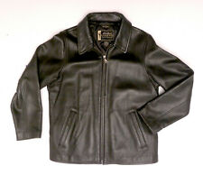 Eddie Bauer Stine Legend Black Leather Jacket Womens Medium