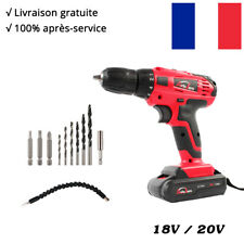 Perceuse Visseuse Sans Fil 18V Professional Perceuse à Percussion Li-ion Battery