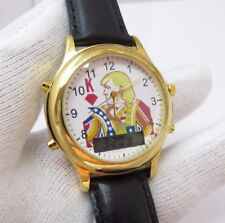 """DONALD TRUMP,""""The King"""",Anolog/Digital Chronograph,MEN'S CHARACTER WATCH,M-20"""
