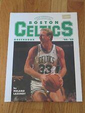 1988-89 BOSTON CELTICS Greenbook LARRY BIRD KEVIN McHALE ROBERT PARISH