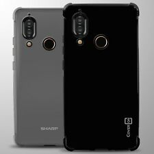 For Sharp Aquos S3 Case Slim Fit Flexible TPU Rubber Gel Phone Cover