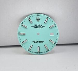 quadrante rolex datejust 41 Tiffany Ref 126300 Cal 3235