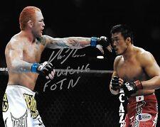 Chris Leben Signed UFC 116 8x10 Photo BAS Beckett COA Fight Picture Autograph 1