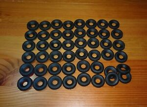 Dinky XL Supertoy Black Square Tread Tyres 22mm O/D 660 Antar & 661 Thorneycroft