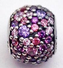 Authentic Pandora Multi-Colored Pave Lights Ball Bead Charm 791261ACZMX New