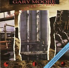 """GARY MOORE take a little time 4 TRACK DOUBLE PACK TEND 190 uk 1987 7"""" PS EX/EX"""