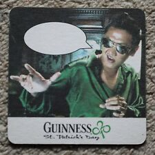 Vintage Guinness Male Caption Beer Mat St. Patrick's Day Sing-a-long Danny Boy