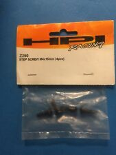 HPI Z290 Wheely King 4x4 Step Screw M4x15mm (4 PCS) Brand New- Free US shipping