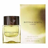 Bottega Veneta Illusione 50ml 1.7 Oz Eau De Toilette Spray Brand New Sealed Box