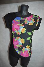 TOP TEE SHIRT   DESIGUAL  TAILLE XS/34 TUNIQUE   BIMATIERE   TBE