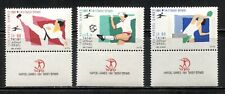 "ISRAEL 1991, SPORTS: 14TH ""HAPOEL"" GAMES, Scott 1081-1083 with TABS, MNH"