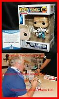 🔥 Tom Wilson Signed Biff Tannen Back To Future Autograph Funko POP Beckett PSA