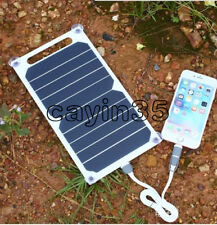NEW 10W 5V Portable Solar Power Panel Charger For Samsung IPhone Tablet Pad