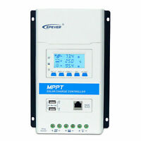 EPSOLAR TRIRON 20 amp SOLAR MPPT CHARGE CONTROLLER LCD MOTORHOME CAMPER 20A 260w