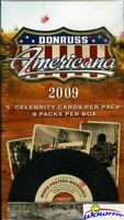 2009 Donruss Americana Factory Sealed Blaster Box-Autograph/Memorabilia !!