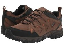 NEW Mens Merrell Pulsate 2 Dark Earth Brown WATERPROOF Leather Hiking Boot Shoes