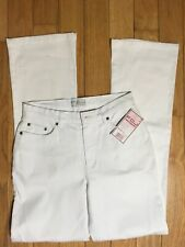 FDJ French Dressing Natural Fit Mid Rise White Olivia Flare Jeans Size 4