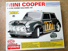 Kyosho 3055, MINI COOPER R/C Model Kit 1:10 - Electric Powered Vintage m/b