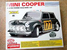 Kyosho 3055, Mini Cooper R/C Model Kit 1:10 - Electric Powered vintage M/B