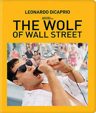 New Sealed The Wolf of Wall Street Metalpak / Steelbook Blu-ray + DVD + Digital