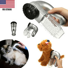 Cat Dog Pet Hair Fur Remover Shedd Grooming Brush Comb Vacuum Cleaner Trimmer US