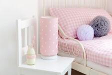 Kinderzimmerleuchte Nachttischlampe für Kinder Lovely Dots Pink